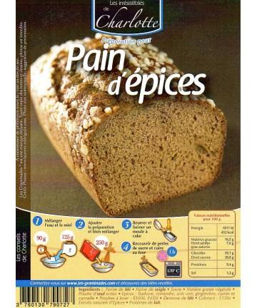 Pain d'épices 5 kg
