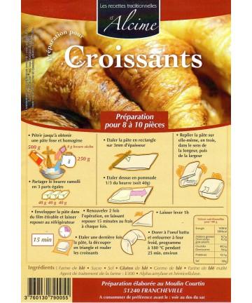 Préparation pour Croissants 5kg
