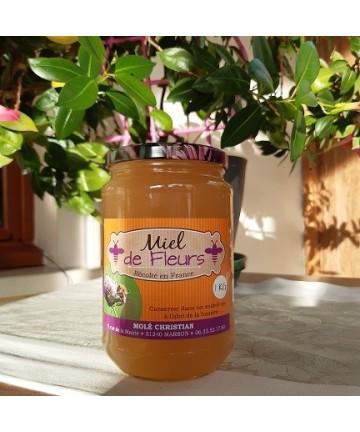 Miel de Fleurs en pot de 1kg