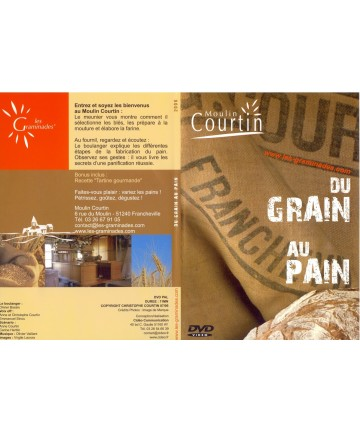 "Pochette DVD ""Du Grain au Pain"""