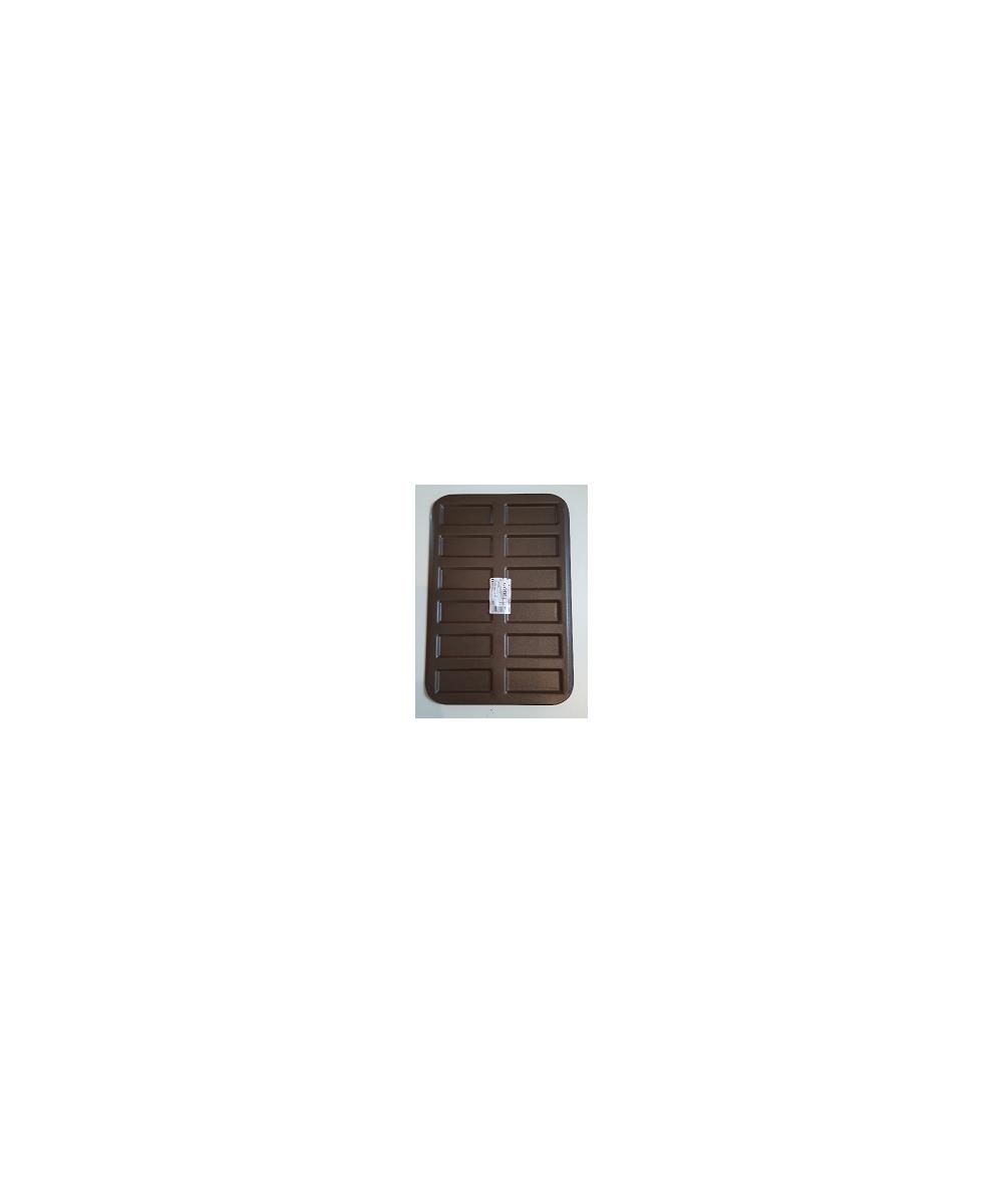 Plaque 12 mini-financiers ou biscuits roses de Reims