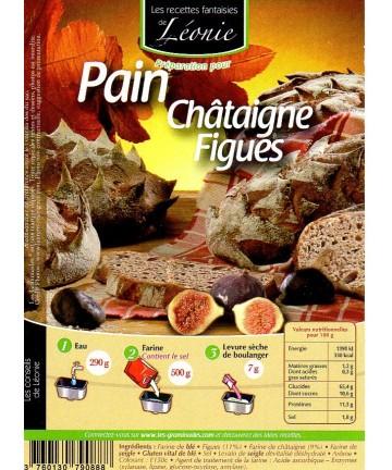 Pain à la Châtaigne & aux Figues 2kg