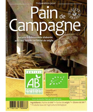Grami'Bio : Pain de Campagne 5kg