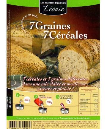 7 Graines 7 Céréales 25kg
