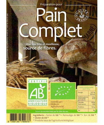 Grami'Bio : Pain Complet 5kg