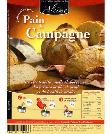 Pain de Campagne 2kg